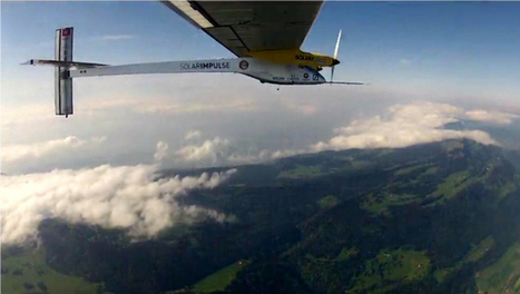 Solar plane midway through first intercontinental flight | Sustainable Energy | Scoop.it