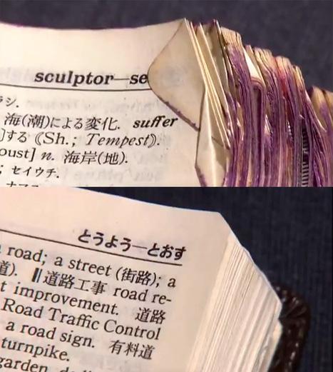 Nobuo Okano repairs tattered books to make them look brand new   Biblio   Scoop.it