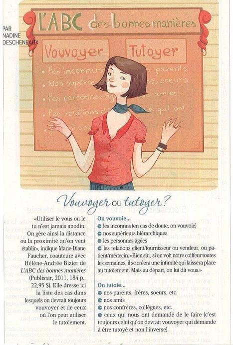 Bonnes manières | L'ESPACE FRANCOPHONE | Scoop.it