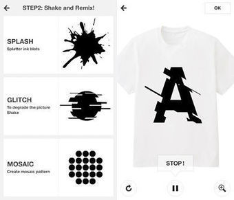Uniqlo fashions DIY t-shirt app with a social focus - Mobile Commerce Daily - Applications | Mobile apps | Scoop.it