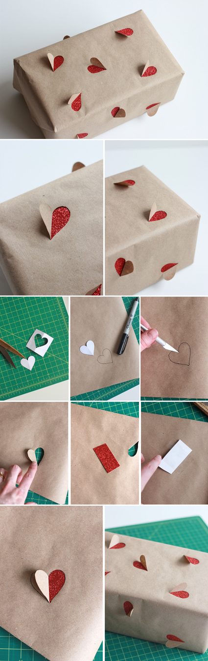 The House That Lars Built.: 2 simple Valentine's Day gift wrapping ideas   Valentines Day   Scoop.it