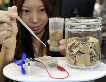 Sony développe une batterie alimentée par du papier | E-Tourisme Mobile | Scoop.it