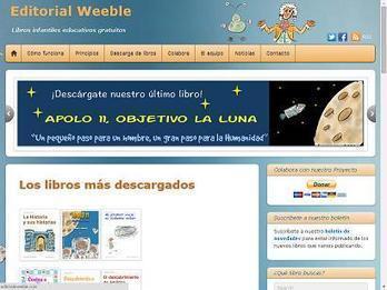 Weeble: libros electrónicos infantiles gratuitos | Recursos TIC para la enseñanza y el aprendizaje | Scoop.it