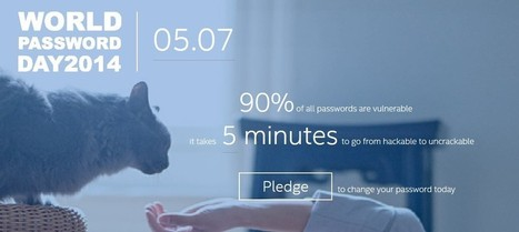 It's World Password Day, Change Yours   FootprintDigital   Scoop.it