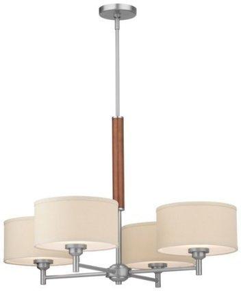 Forecast Lighting F1300-36 Embarcadero Four-Light Chandelier with Vanilla... | Home Improvement | Scoop.it