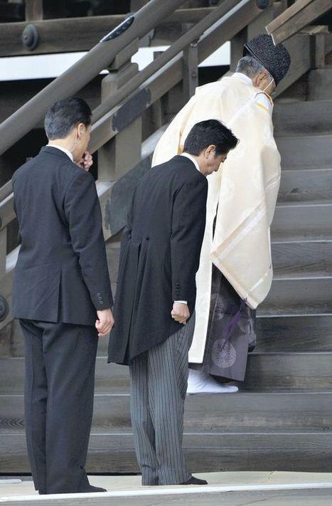 Japan in Depth / Abe's Yasukuni Shrine visit a personal, calculated risk | De internationale relaties tussen Japan en China | Scoop.it