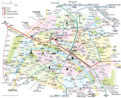 Un nouveau plan de métro libre de droits | Bien communiquer | Scoop.it