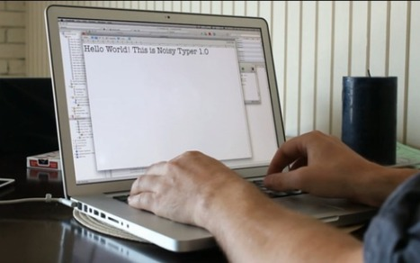 Turn Your Mac Into a Noisy Old-School Typewriter | Tools You Can Use | Scoop.it