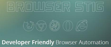 BrowserStig = Developer Friendly Browser Automation | Development on Various Platforms | Scoop.it