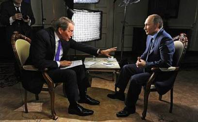 Charlie Rose Gains Emmy Nomination for Vladimir Putin Interview | Global politics | Scoop.it