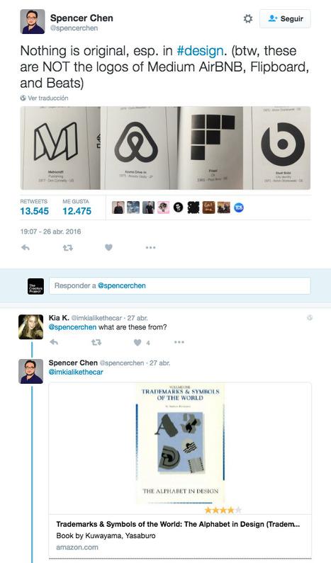 Les logos de AirBnb, Beats by Dre et Flipboard viennent tous d'un livre publié en 1989 | What's new in Visual Communication? | Scoop.it