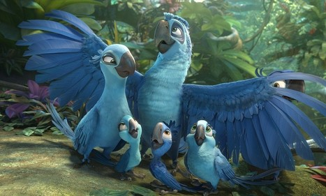 Rio 2: Rio returns with a colourful and chirpy rainforest romp - Daily Mail | Brazil Travel | Scoop.it