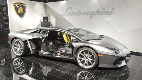 Lamborghini's path to the future is paved with forged composites »  | Industrial subcontracting | Scoop.it