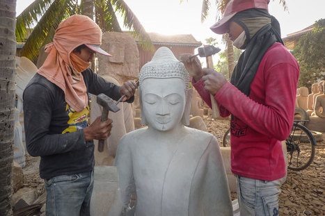 Reportage chez les sculpteurs d'Angkor - 'We Are Angkorian' | Asie(s) Cultures | Scoop.it