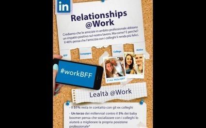 LinkedIn e la guerra della scrivania: meglio la promozione di un amico | Social Media e lavoro | Scoop.it