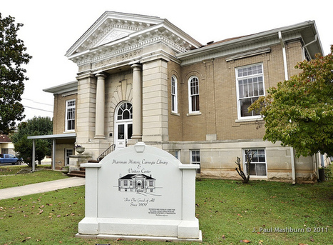Carnegie Library in Harriman TN - photos | Tennessee Libraries | Scoop.it