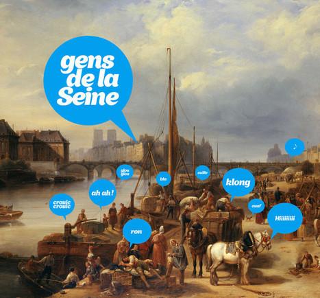 Avec le site GENS de PARIS,, un patrimoine ludique etgrandpublic | URBANmedias | Scoop.it