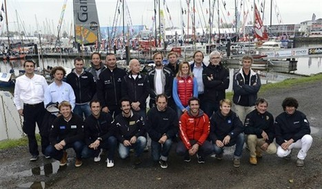 La photo officielle des 20 skippers du Vendée Globe - Les Sables-d'Olonne - Voile - ouest-france.fr | Astuces Vacances & News de Vendée | Scoop.it