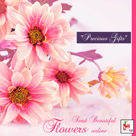 Send #flowers online means sharing happiness to dear one | BlossomSquare online flowers delivery system | Scoop.it