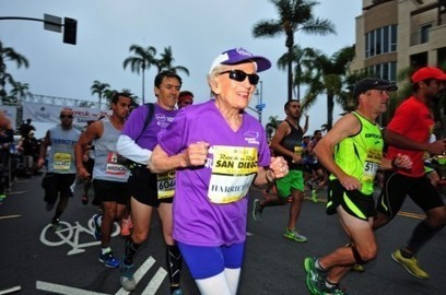 Harriette Thompson, 92, is trying to become oldest woman to run a marathon | One Step at a Time | Scoop.it