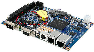 Avalue ECM-DX2 3.5″ Single Board Computer Features DM&P Vortex86DX2 SoC | Embedded Systems News | Scoop.it