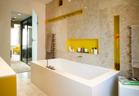Recessive Color: 8 Eye-Catching Niches, Nooks and Crannies | Designing Interiors | Scoop.it
