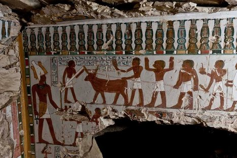 Ancient Egyptian tomb of temple guard Amenhotep discovered in Luxor [Photos] | Nubia; daily life and cultural heritage | Scoop.it