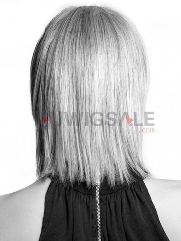 Cheap 12 Mono Mid-Length Straight Blonde Synthetic Wigs With Side Bangs | Cheap Wigs Online Shopping at Auwigsale.com | Scoop.it