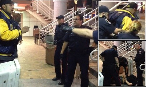 Disturbing moment drunk man is Tasered by police | Police & Law Enforcement News | Scoop.it