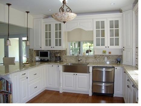 Gabinetes de cocina for Remodelacion de cocinas pequenas