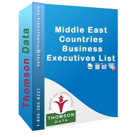 Middle Eastern Business Executives Lists | Middle Eastern CEO Lists | Middle Eastern CFO Lists | Business Executives Lists Middle East | Marketing List | Scoop.it