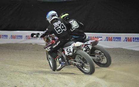 Mikey Rush Tops Vegas AMA Pro Flat Track Final Qualifying - CycleNews | California Flat Track Association (CFTA) | Scoop.it