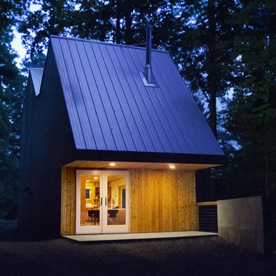 Polygon Studio with guesthouse by Jeffery Poss and WORKUS Studio | Architecture | Scoop.it