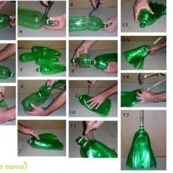 Come trasformare 5 bottiglie di plastica in una scopa | Riciclo Creativo | Scoop.it