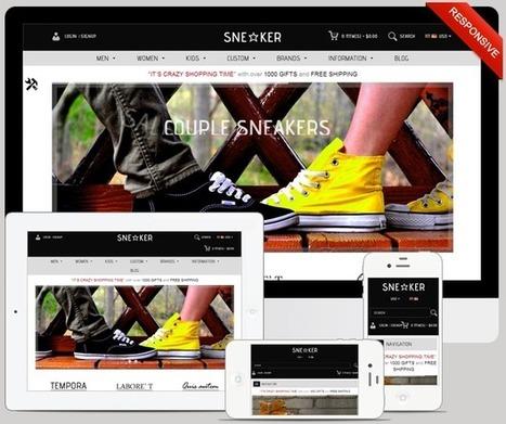 Sneaker Best OpenCart Fashion Shoes Store - ServerThemes.Net | Best Premium OpenCart Themes | Scoop.it