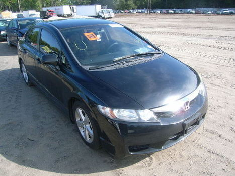 Salvage 2011 black Honda Civic Lx-S with VIN 19XFA1F66BE037296 on auction | VEHICLES on Auction | Scoop.it
