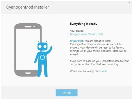 How To Install CM ROM With The Official CyanogenMod Installer | Time to Learn | Scoop.it
