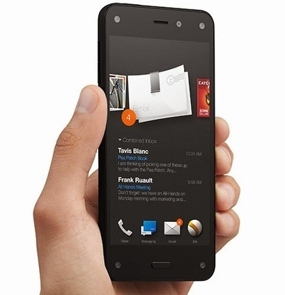 Amazon Fire phone with four front cameras for 3D effect - Techno2know | Technology | Scoop.it