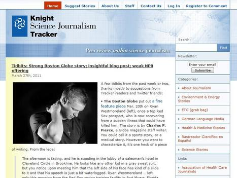 Knight Science Journalism Tracker | Top sites for journalists | Scoop.it