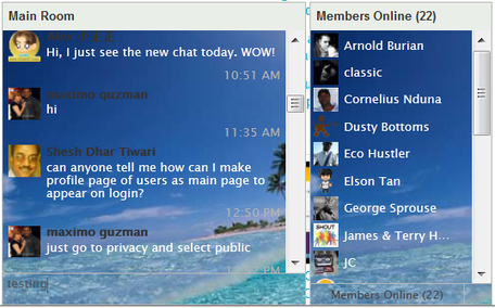 Style Ning's New Chat Box! | education | Scoop.it