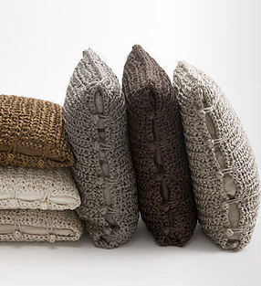 Ann Gish Pillows - Ann Gish Hand Knitted Silk Pillows | Stunning Crafts You Can Do With Yarns | Scoop.it