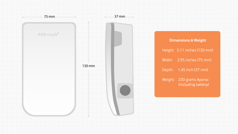 Technical Specifications - AMI Vitals Plus | blood pressure monitor | Scoop.it