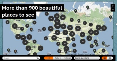 Free Technology for Teachers: Explore a Map of 900+ UNESCO World Heritage Sites | iGeneration - 21st Century Education | Scoop.it