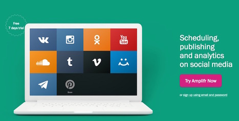 Programmez et analysez vos publications sur les médias sociaux avec 'Amplifr'... | Social Media, etc. | Scoop.it