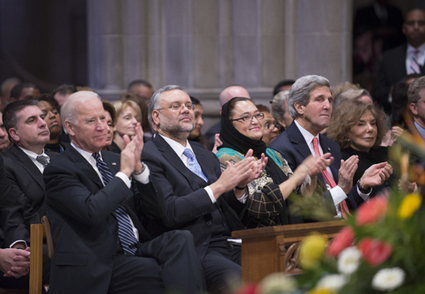 National Cathedral bids a warm, prayerful goodbye to Nelson Mandela - Religion News Service   Embassy of South Africa Washington DC   Scoop.it