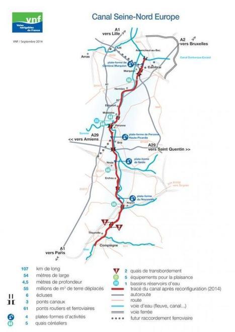 (Canal Seine-Nord) La plateforme de Marquion compte être incontournable le long du canal | La Voix du Nord | PSN - Filière Logistique-Portuaire | Scoop.it