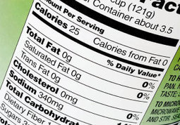'Nutrition facts' food labels ready for a facelift | Food issues | Scoop.it