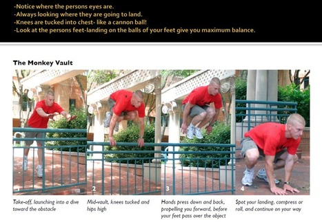 Parkour – Urban Running – Free Running Resources - PE Scholar | TACCLE2 | Scoop.it
