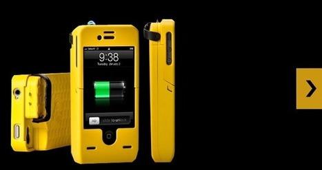 Un accessoire qui transforme votre iPhone en arme défensive   Geeks   Scoop.it