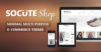 Socute – Minimal Multi-Purpose e-Commerce Theme | Design | Scoop.it
